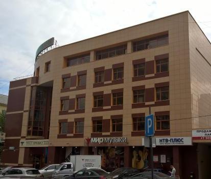 Здание Уральского колледжа недвижимости и управления